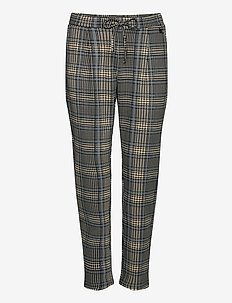 FRLECHECK 4 Pants - slim fit housut - della robbia blue mix