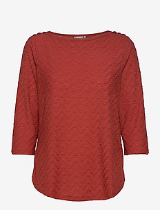 FRLEJACQ 1 T-shirt - t-shirts - barn red