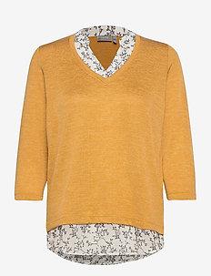 FRLEREXAN 1 Blouse - jumpers - harvest gold melange