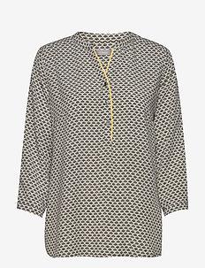 FRIPRETRO 1 Shirt - långärmade blusar - hedge mix