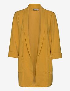FRLEDUSA 1 Cardigan - blazere - harvest gold