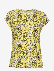 FRJESEEN 1 T-shirt - t-shirts - lemon zest flower
