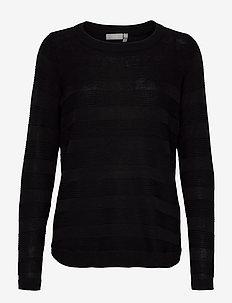 FRLETAN 3 Pullover - neulepuserot - black