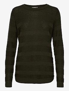 FRLETAN 3 Pullover - neulepuserot - green ink