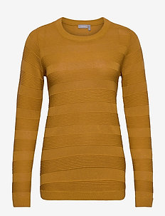 FRLETAN 3 Pullover - jumpers - harvest gold