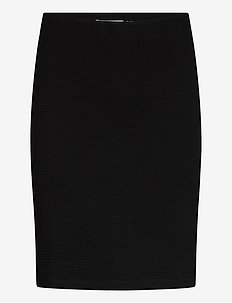 FRZARILL 2 Skirt - midi skirts - black