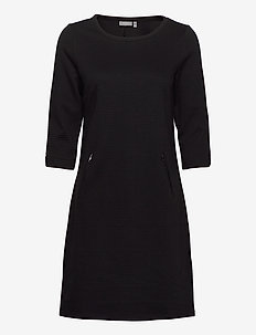FRZARILL 3 Dress - midi dresses - black