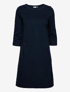 FRZARILL 3 Dress - midi jurken - dark peacoat