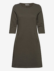 FRZARILL 3 Dress - midi dresses - green ink