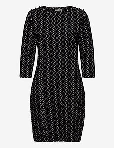 FRMEVAR 1 Dress - midi dresses - black mix