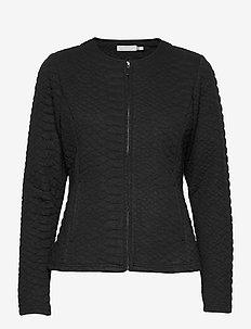 FRMECARDI 1 Cardigan - rennot bleiserit - black