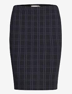 FRMECHECK 4 Skirt - blyantskjørt - navy blazer mix