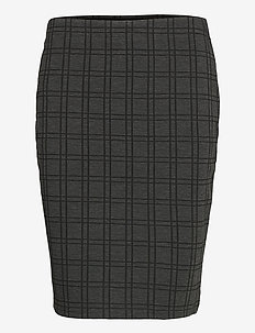 FRMECHECK 4 Skirt - blyantskjørt - raw melange