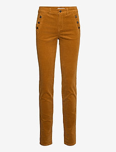 FRMACORD 1 Pants - slim fit bukser - cathay spice