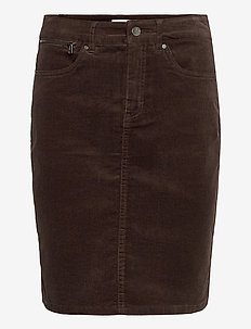 FRMACORD 2 Skirt - jupes crayon - coffee bean