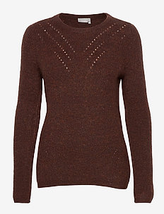 FRMESANDY 1 Pullover - jumpers - chocolate fondant melange