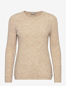 FRMESANDY 1 Pullover - trøjer - beige melange