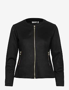 FRMASUEDE 1 Jacket - leather jackets - black