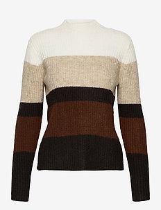 FRMEBLOCK 2 Pullover - trøjer - chocolate fondant melange