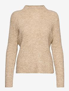 FRMEBLOCK 2 Pullover - trøjer - beige melange