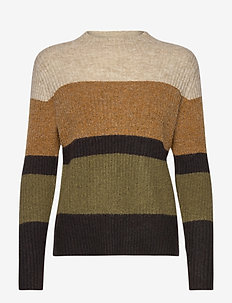 FRMEBLOCK 2 Pullover - jumpers - cathay spice mix
