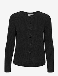 FRMEBLOCK 3 Cardigan - cardigans - black