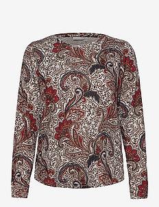 FRMESOFT 1 Pullover - langermede topper - light grey melange mix