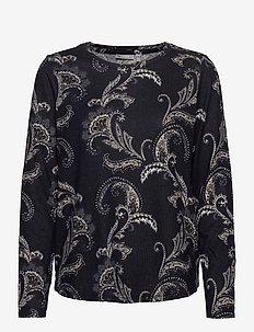 FRMESOFT 1 Pullover - langermede topper - navy blazer mix