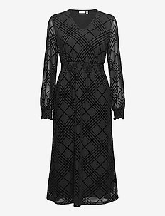 FRNEMESH 2 Dress - midi dresses - black