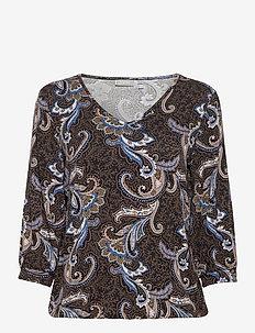 FRMELEO 5 T-shirt - pitkähihaiset puserot - black mix