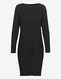 ZUBASIC 131 Dress - knitted dresses - black