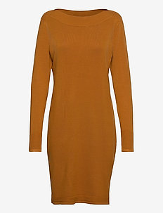 ZUBASIC 131 Dress - knitted dresses - cathay spice