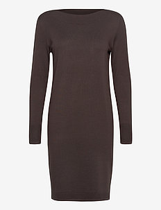 ZUBASIC 131 Dress - knitted dresses - green ink