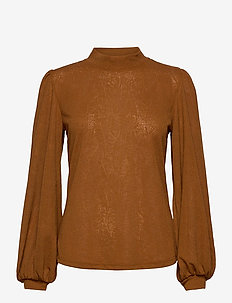 FRMELEAF 1 Blouse - blouses à manches longues - cathay spice