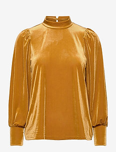 FRNEVELOUR 6 Blouse - long sleeved blouses - cathay spice