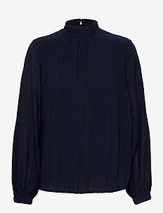 FRMASTRI 2 Blouse - pitkähihaiset puserot - navy blazer