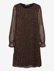 FRMALEO 1 Dress - short dresses - chocolate fondant mix