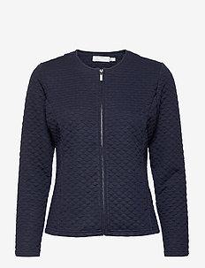 FRPECARDI 1 Cardigan - cardigans - navy blazer