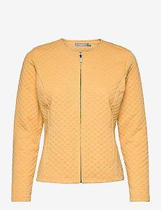 FRPECARDI 1 Cardigan - vesten - ochre