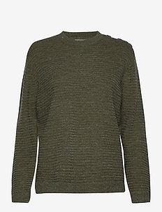 FRLEMERETTA 1 Pullover - tröjor - hedge melange