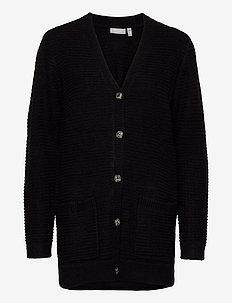 FRLEMERETTA 2 Cardigan - cardigans - black melange