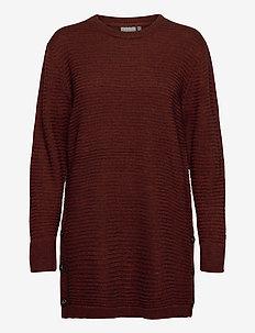 FRMERETTA 3 Pullover - trøjer - burnt henna melange
