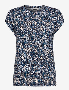 FRPESEEN 1 T-shirt - t-shirts - navy blazer mix