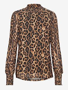 FRNEYEAR 2 Top - blouses à manches longues - black mix