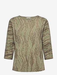 FRPEMISO 1 T-shirt - tops met lange mouwen - hedge mix