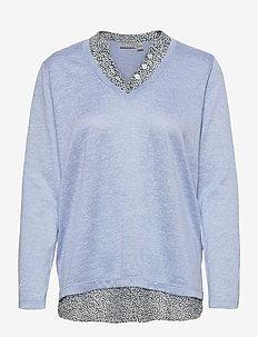 FRPEREXAN 1 Pullover - truien - brunnera blue melange