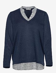 FRPEREXAN 1 Pullover - jumpers - navy blazer melange