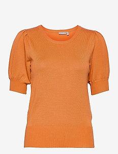 ZUBASIC 135 Pullover - gebreide t-shirts - dusty orange