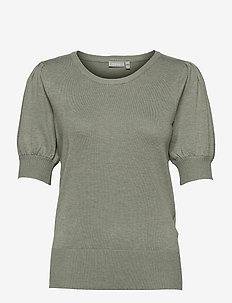 ZUBASIC 135 Pullover - gebreide t-shirts - lily pad melange