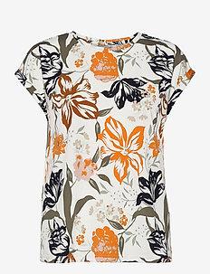 FRVESEEN 1 T-shirt - t-shirts - autumn maple mix